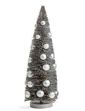 39cm Table Top Retreat Tree with Baubles