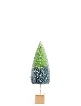 Medium Bright Green Bristle Tree, , catlanding