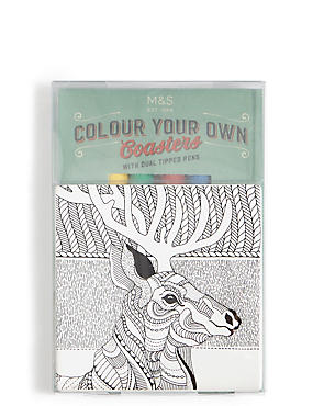 Colour Your Own Coaster