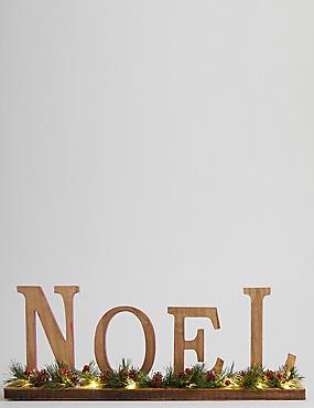 Noel Light up Letters, , catlanding