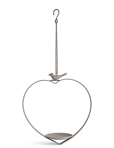 Heart Iron Bird Feeder
