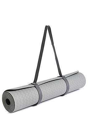 Yoga Mat, GREY MIX, catlanding
