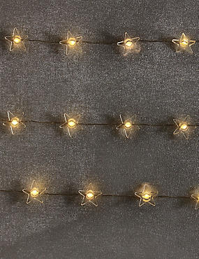 20 Star LED Wire Lights