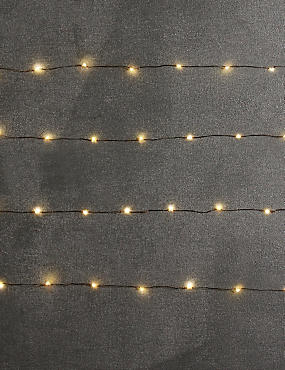 80 Copper LED Wire Lights