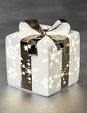 Ceramic Light-up Gift Box