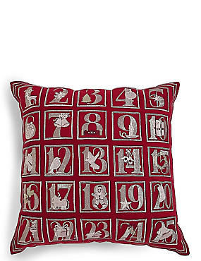 Advent Calendar Cushion
