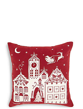 Village Light Up Cushion
