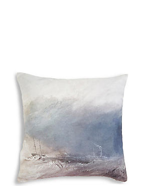 Seascape Cushion, , catlanding