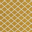 Printed Cotton Geometric Rug, OCHRE, swatch