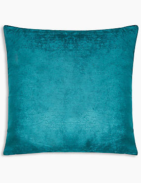 La Perla Cushion, TEAL, catlanding