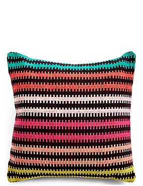 Bright Striped Cushion