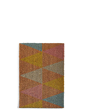 Marvelous Triangle Doormat