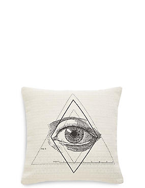 Eye Jacquard Cushion