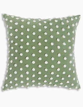 Spot Cushion, SOFT GREEN, catlanding