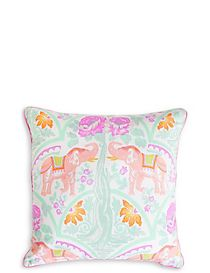 Elephant Print Cushion
