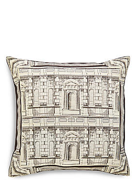 House Metallic Jacquard Cushion