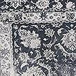 Oversized Velvet Vintage Print Cushion, GREY MIX, swatch
