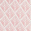 Willow Leaf Print Cushion, SOFT PINK, swatch