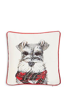 Printed Dog Cushion, , catlanding