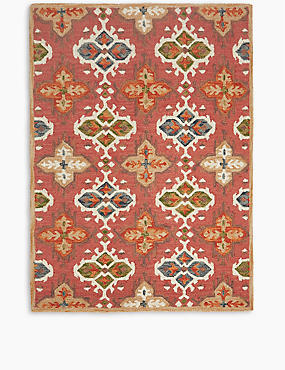 Tapestry Rug, TERRACOTTA MIX, catlanding