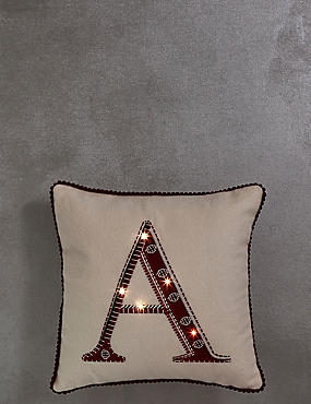 A-Z Alphabet Light-up Cushion