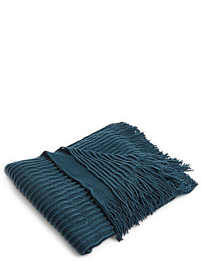 Loop Knit Throw
