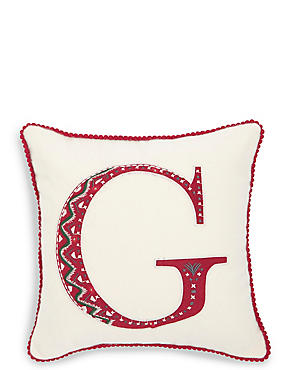 Alphabet Light Up Cushion G