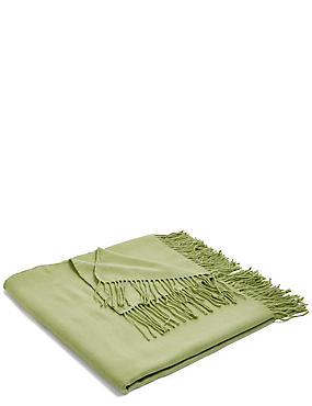 Supersoft Throw, SOFT GREEN, catlanding