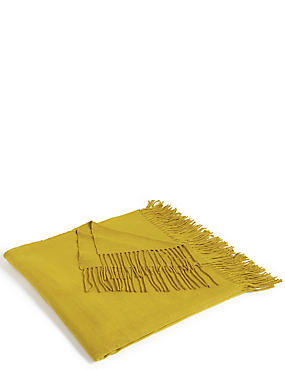 Supersoft Throw, OCHRE, catlanding