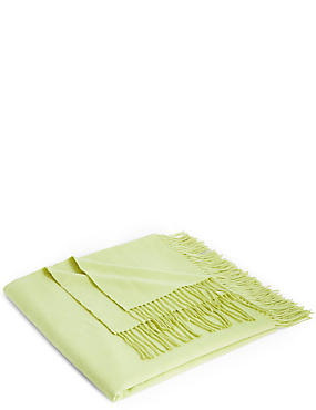 Supersoft Throw, LIME GREEN, catlanding