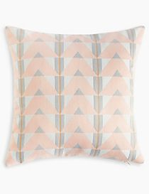Triangle Jacquard Cushion