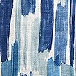 Abstract Striped Cushion, BLUE MIX, swatch