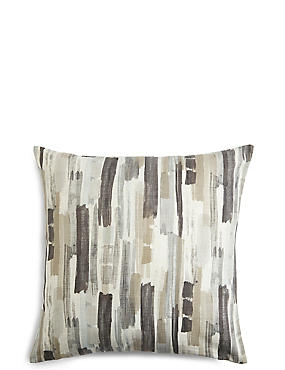 Abstract Striped Cushion, GREY MIX, catlanding