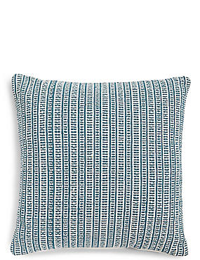 Woven Striped Cushion