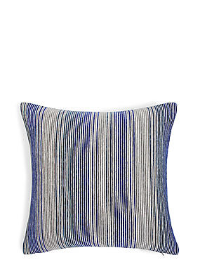 Stripe Cushion, NAVY MIX, catlanding