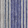 Stripe Cushion, NAVY MIX, swatch