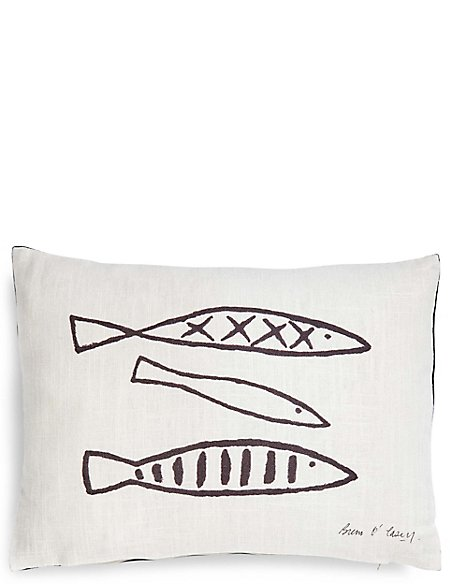 Breon Ocasey 3 Fish Cushion