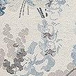 Vintage Floral Jacquard Cushion, BLUE MIX, swatch