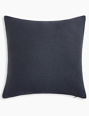 Banbury Cushion, SLATE BLUE, catlanding