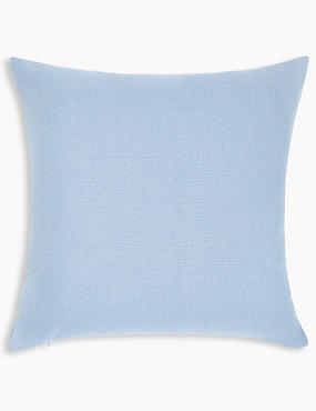Banbury Cushion, CORNFLOWER, catlanding