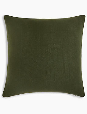 Banbury Cushion, KHAKI, catlanding