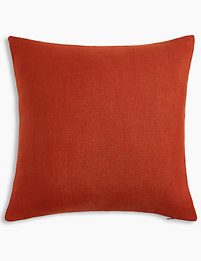 Banbury Cushion, BURNT ORANGE, catlanding