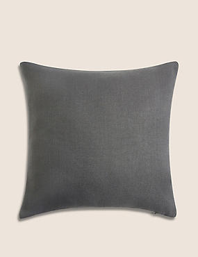 Banbury Cushion, DARK GREY, catlanding