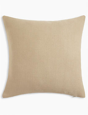 Banbury Cushion, NATURAL, catlanding