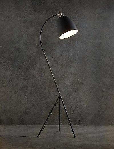 Tripod floor lamp ms for Modern tripod floor lamp marks and spencer