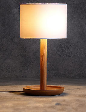 table lamps lighting. conran wooden dish table lamp lamps lighting v