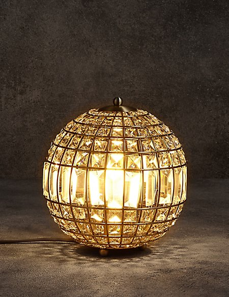 Gem ball table lamp ms gem ball table lamp aloadofball Gallery