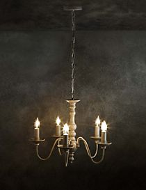 Beth Bare 5 Light Chandelier