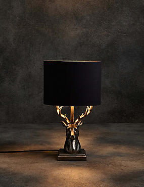 table lamps lighting. stag table lamp lamps lighting