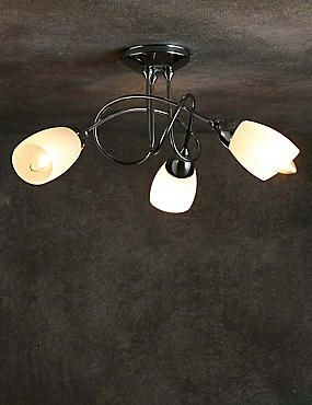Andrea 3 Light Flush Lamp